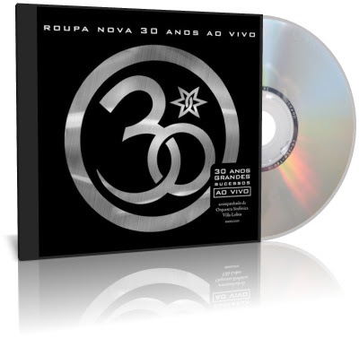 Capa CD Roupa Nova 30 Anos Ao Vivo