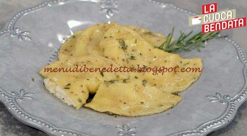 La Cuoca Bendata - Ravioli fichi e ricotta ricetta Parodi