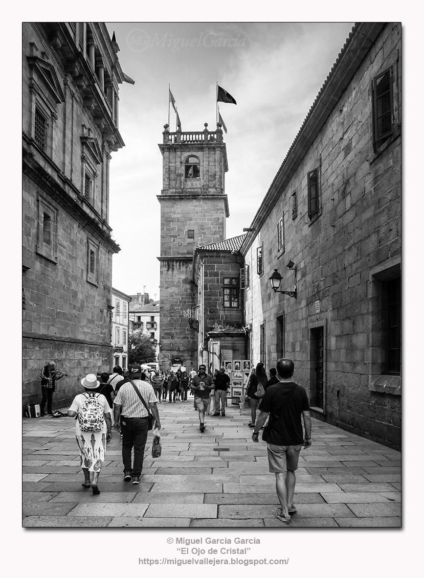 Santiago de Compostela.- Rúa do Franco.