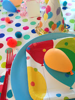 Balloon birthday party
