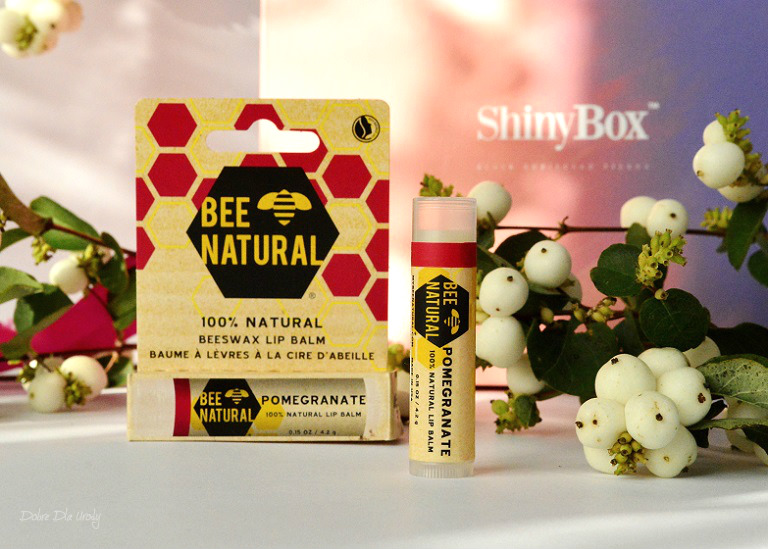 THINK PINK by ShinyBox -  BEE NATURAL Balsam do ust