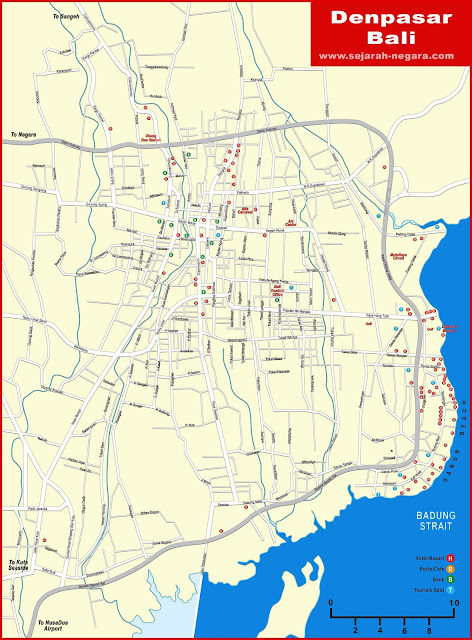 image: Denpasar Map High Resolution