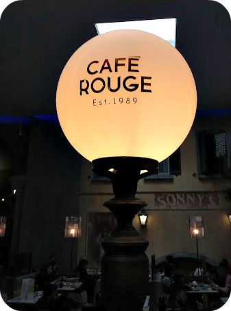 Eating Out With Kids: Café Rouge Trafford Centre