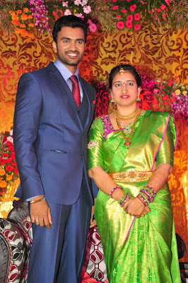 Telugu Actor Shiva and Anusha wedding