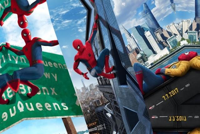 Resultado de imagem para homem aranha de volta ao lar premiere line