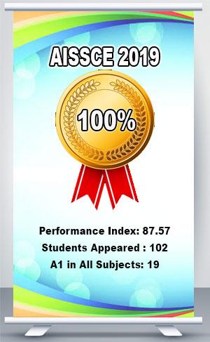 AISSCE 2019 - Vidyalaya Secures 100% Pass