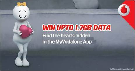 Vodafone brings #HunttheHearts on My Vodafone App