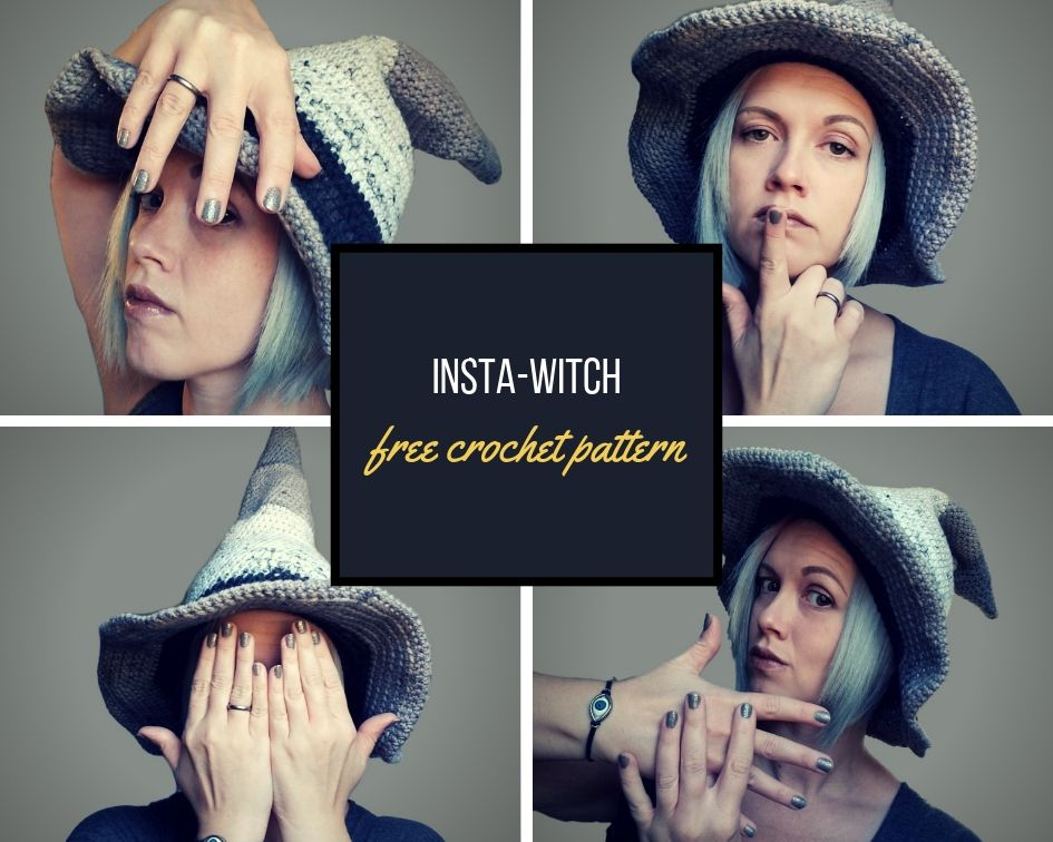 f6ab7ffca6d Insta Witch Hat -free crochet pattern-