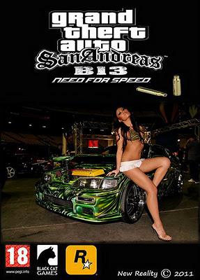 скачать бесплатно игру Gta San Andreas B13 Nfs 2011 через торрент - фото 8