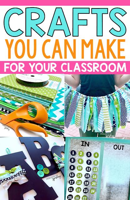 Easy Classroom Decor Crafts