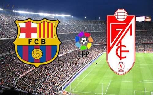 نتيجة ملخص مباراة برشلونة وغرناطة يوم امس السبت 29/10/2016 تفاصيل مباراة برشلونة امس