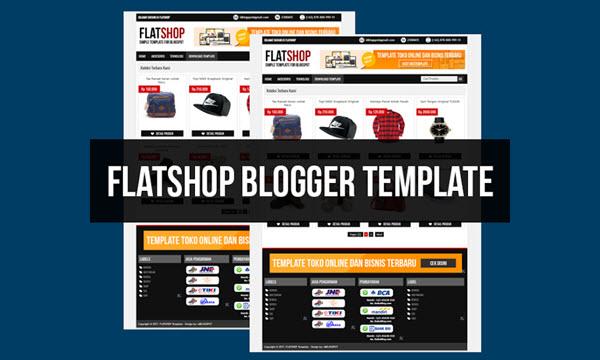 Flatshop Blogger Templates