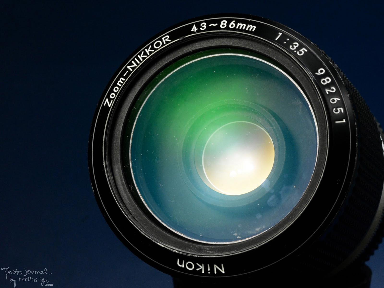 "Zoom-Nikkor 43-86mm f/3.5 (AI Version), ""Nikon's Most Popular Zoom Lens"""