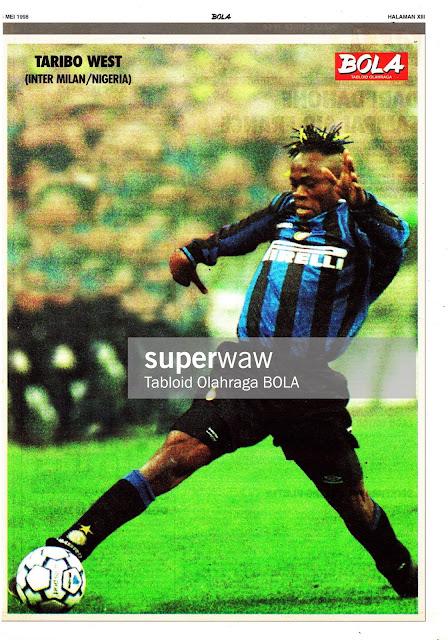 TARIBO WEST INTER MILAN 1997