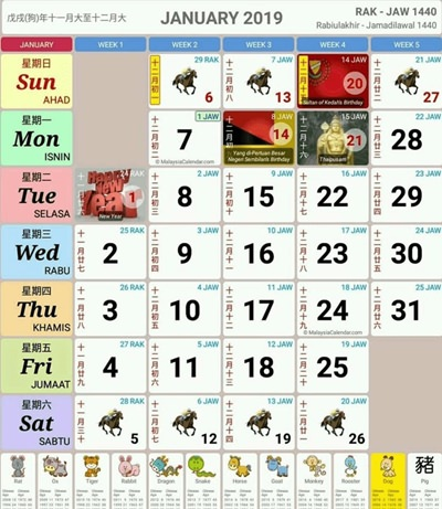 kalendar kuda 2019 malaysia pdf
