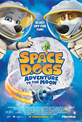 Space Dogs Adventure To The Moon 2016 DVD R1 NTSC Latino