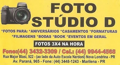 """Foto Studio D"" do Elias e Cristina"