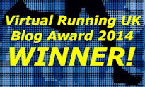 Winner of the Virtual Running Blog Awards