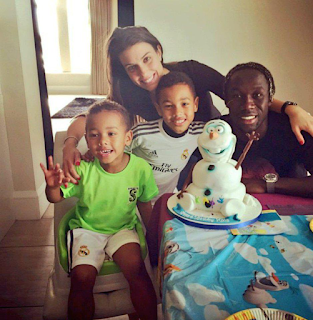 Bacary Sagna Family Picture Png