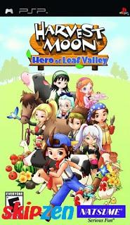 Harvest Moon : Hero Of Leaf Valley PSP