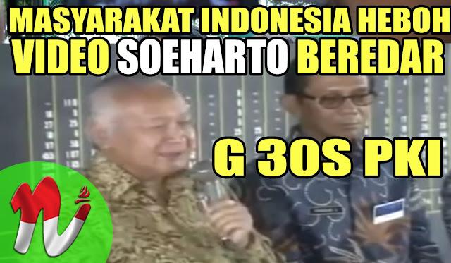 """Beredar Rekam SOEHARTO Blak-Blakan Soal """"G30S PKI"""""""
