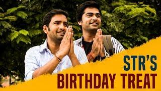 HOT: STR's Mass Birthday Treat to Santhanam
