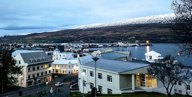 View to Akureyri city