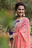 Actress Shraddha Srinath in Purple Chania Choli Cute Pics ~  Exclusive 26.jpg