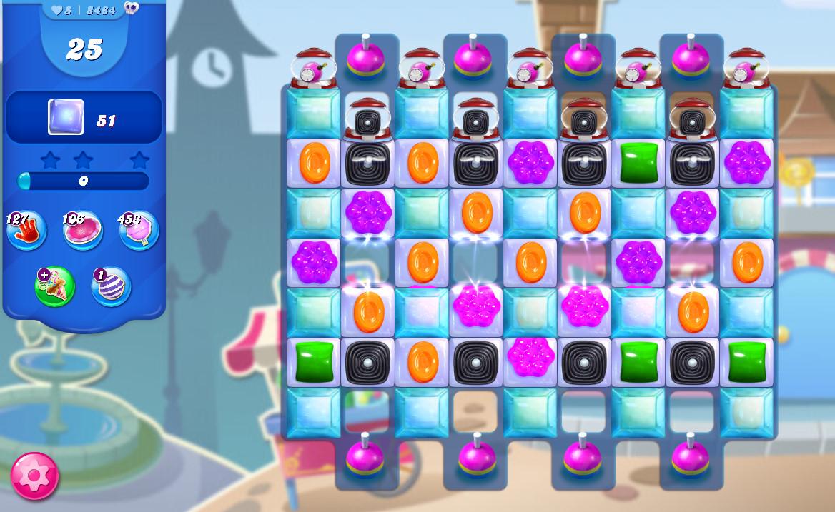 Candy Crush Saga level 5464