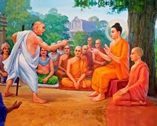 Un uomo sputò in faccia al maestro - Buddha
