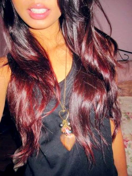 Red Ombre Hair- If i ever get that brave.