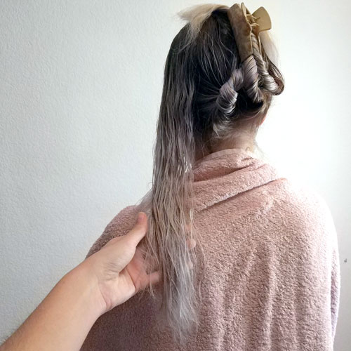 Como separan el pelo las peluqueras
