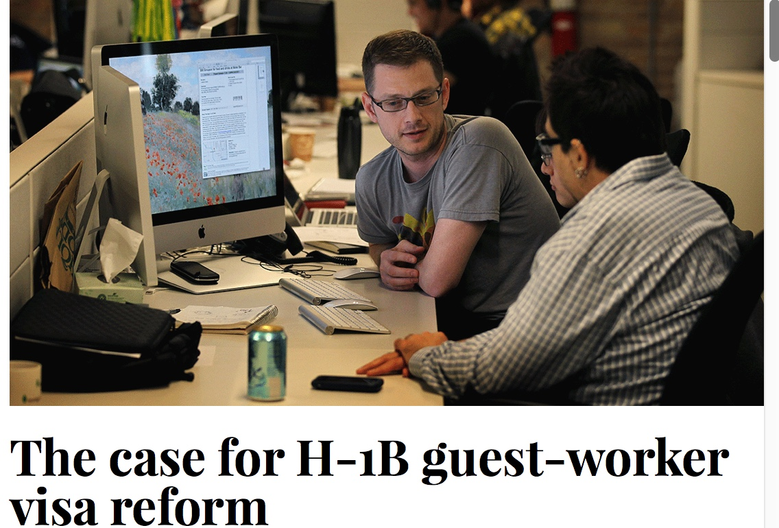 Educational Equity, Politics & Policy in Texas: H-1B visa ...