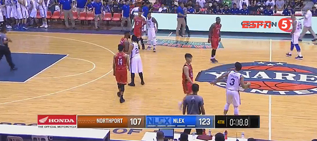 NLEX def. NorthPort, 123-107 (REPLAY VIDEO) August 19