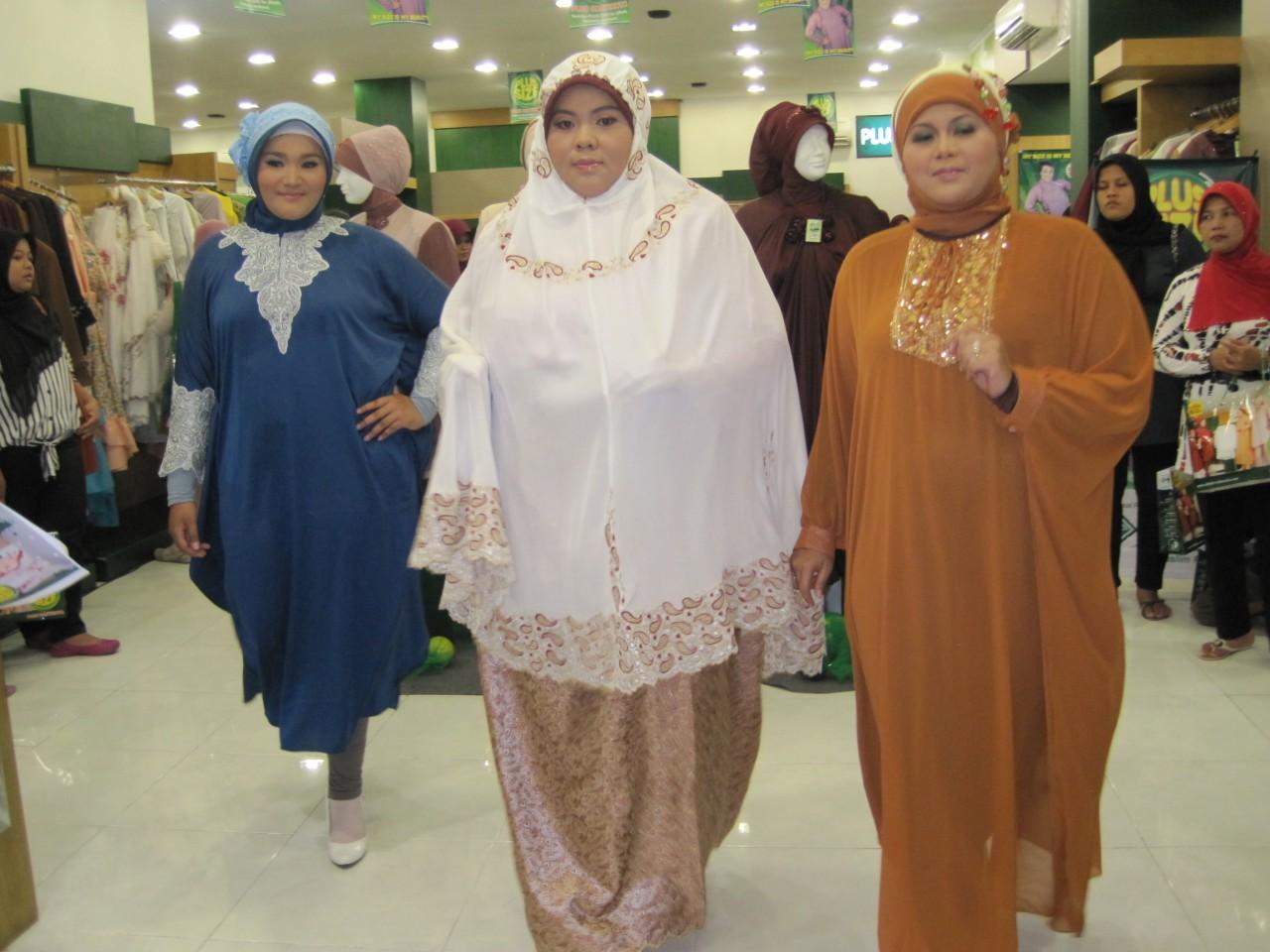 Model Baju Muslim Untuk Orang Gemuk dan Pendek Terbaru