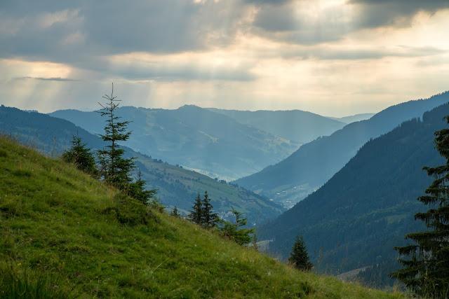 Sonnenaufgangswanderung Spieleckkogel  Wandern in Saalbach 12