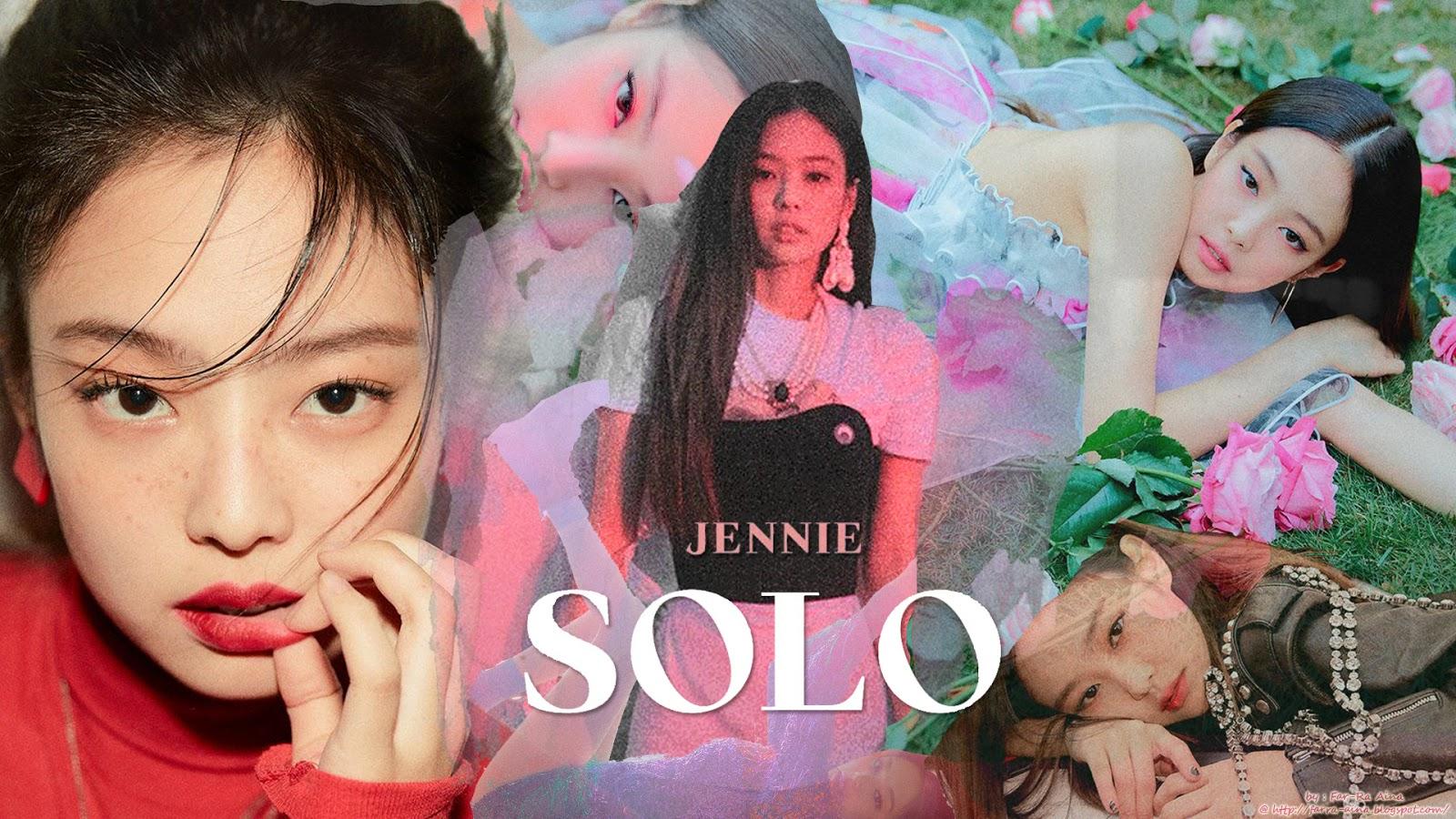 K Pop Lover Blackpink Jennie Solo Wallpaper