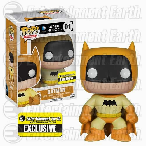 Entertainment Earth Exclusive The Rainbow Batman Pop! Series by Funko - Yellow Batman