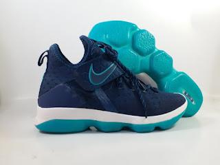 Nike LeBron 14 Red Carpet Dark Blue  Jual Sepatu Basket Replika Import Premium
