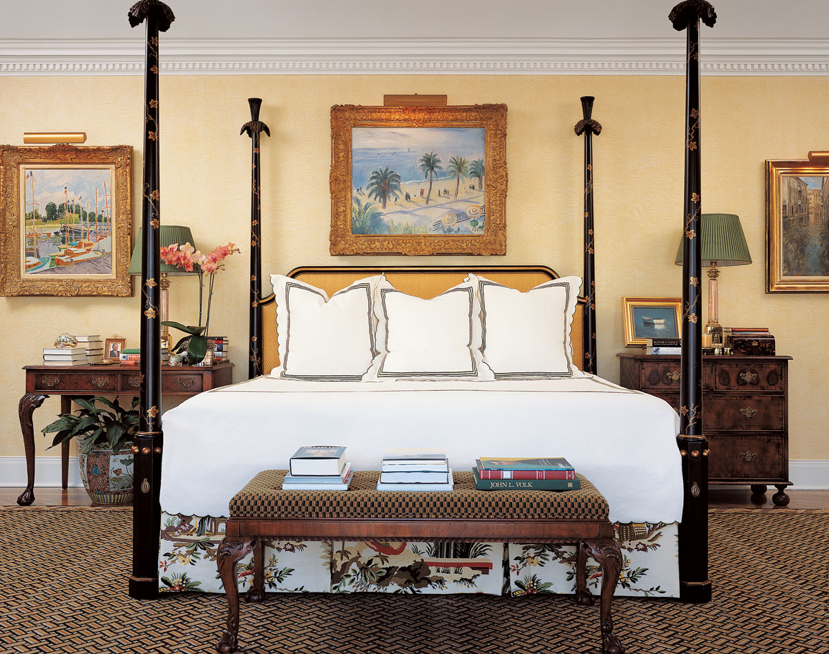 Colonial Bedroom A Tribute To Designer Daniel Clancy The Glam Pad