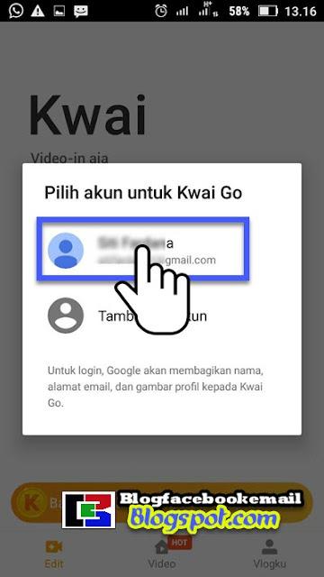 cara dapat uang dari aplikasi android kwai go