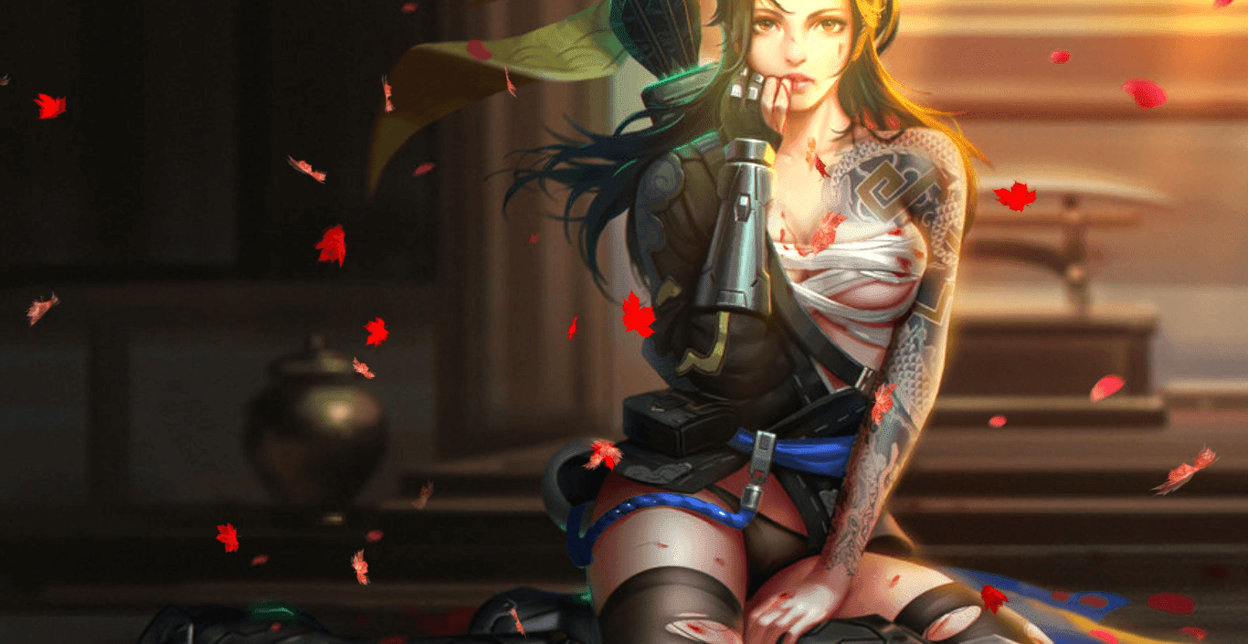 Female Hanzo [Wallpaper Engine Free]