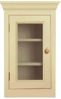 Glazed kitchen cupboard in Buckinghamshire Bucks
