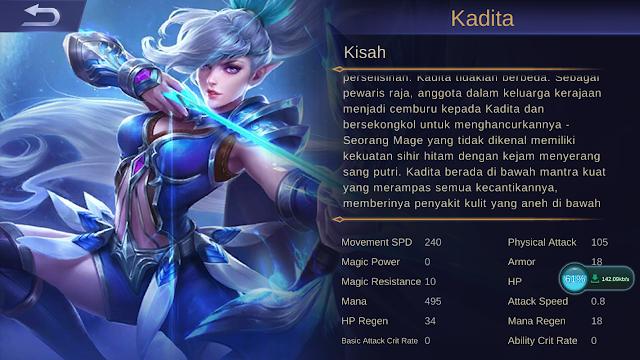 Kisah Kadita Mobile Legends