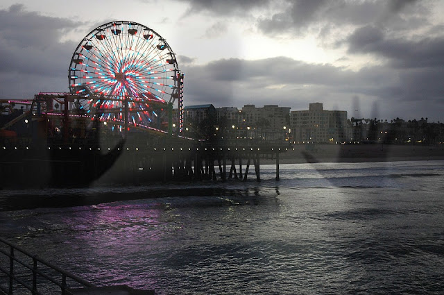 The Ghost of Santa Monica Pier