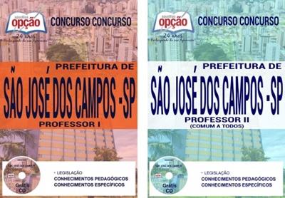 Apostila Prefeitura de São José dos Campos SP 2017