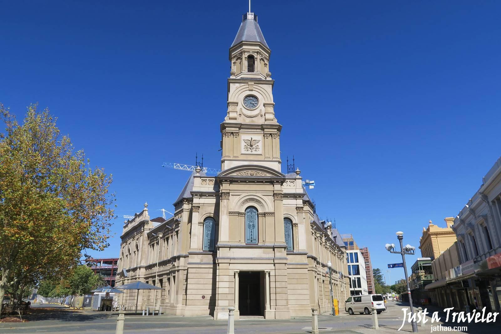 澳洲-伯斯-景點-推薦-費里曼圖-市政廳-Fremantle-必玩-必去-自由行-行程-攻略-旅遊-一日遊-二日遊-Perth-Travel-Tourist-Attraction