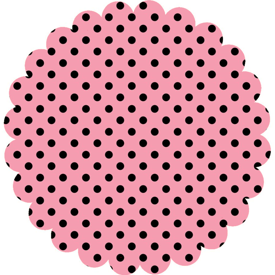 Free Printable Labels with Polka Dots. | Oh My Quinceaneras!