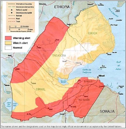 Djibouti | Mapas Geográficos do Djibouti