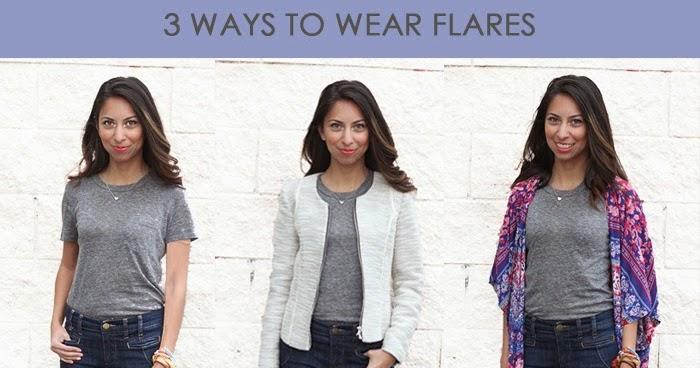 Adri Lately: 3 Ways To Wear Flares